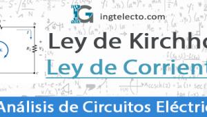 Ley de Corrientes de Kirchhoff – Ejercicios Resueltos
