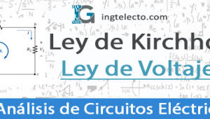 Ley de Voltajes de Kirchhoff – Ejercicios Resueltos