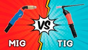 Diferencia entre soldadura MIG y TIG